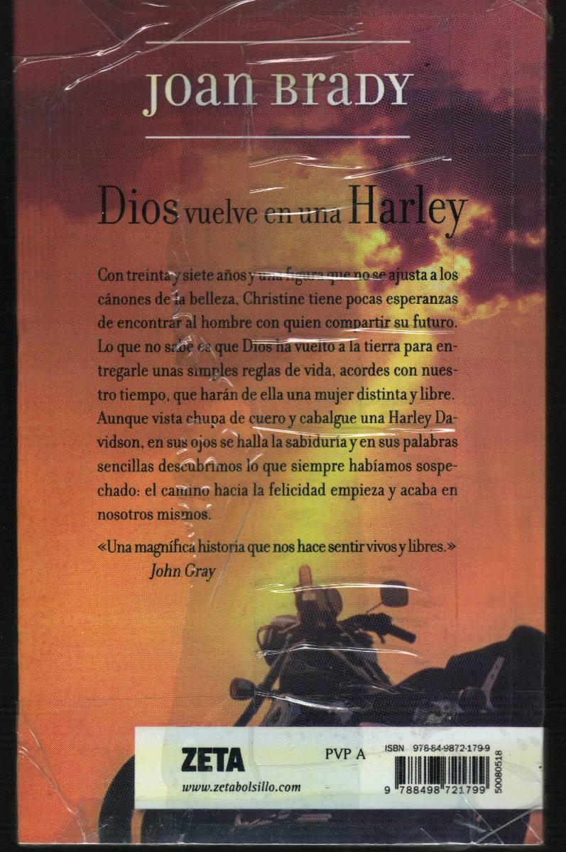 Dios Vuelve En Una Harley Joan Brady - $ 260.00 en Mercado