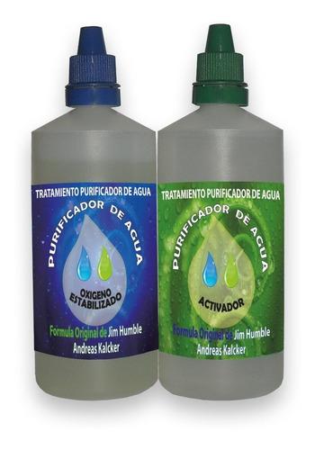 dióxido de cloro cds 500 ml - purificador de agua