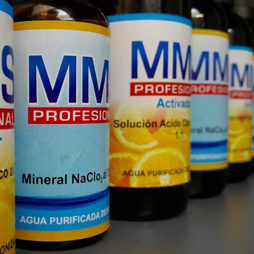 dióxido de cloro / clorito de sodio  / mms / desinfectante
