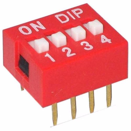 dip switch 4 posiciones deslizables