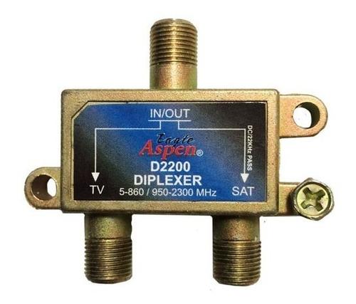 diplexer eagle aspen - d-2200 conbinador de señales (3$)