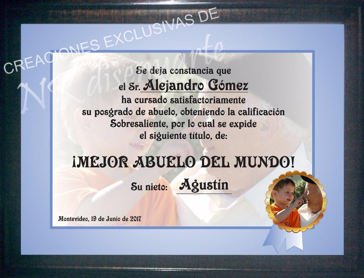 Asombroso Marcos De Cuadros Para El Abuelo Festooning - Ideas ...