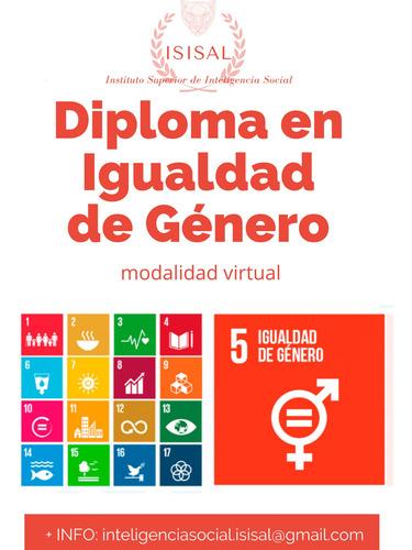 diploma en igualdad de género