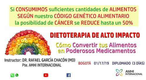 diplomado alimentación biocompatible+ certificado 3043818648