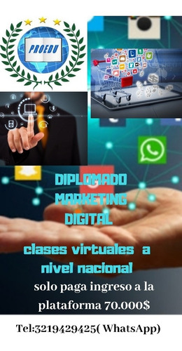 diplomado en marketing  digital