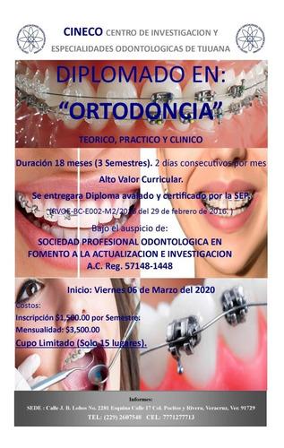 diplomado en ortodoncia veracruz, ver. 06 marzo 2020
