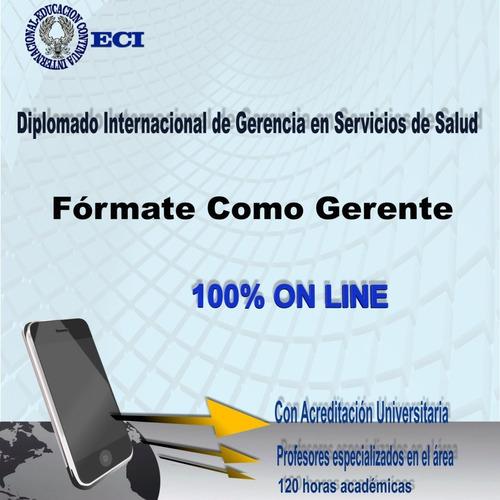 diplomado gerencia en servicios de salud on line