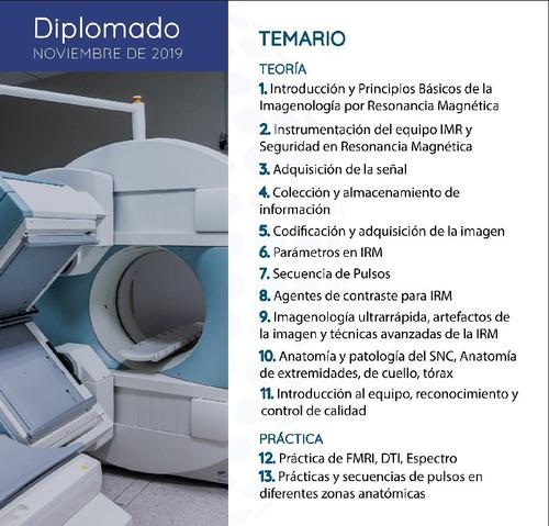 diplomados en imagenología en linea. sector salud