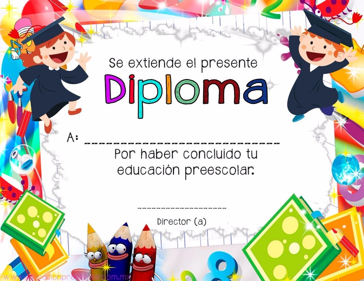 diplomas inicial - primaria - secundaria - universidad