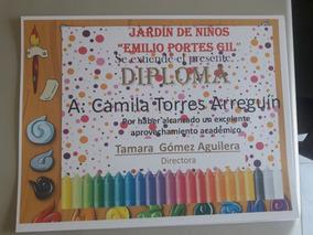 Diplomas Para Graduación Preescolar Primaria