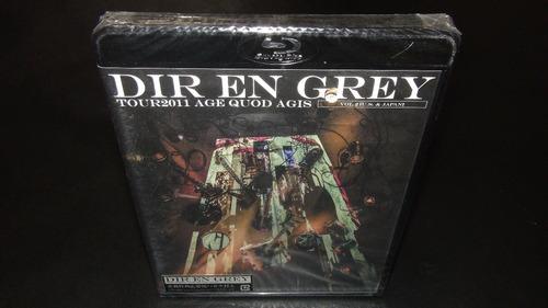 dir en grey 2011 age quod agis vol.2 u.s & japan blu-ray