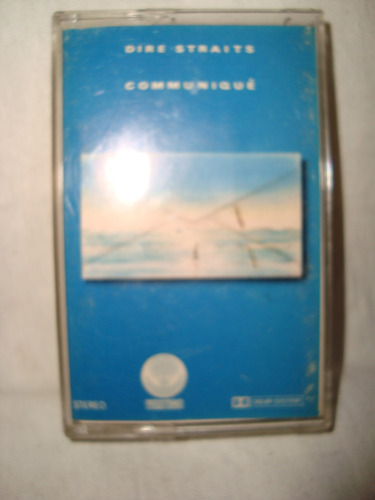 dire straits communique cassette imp.spain 1979 en caballito