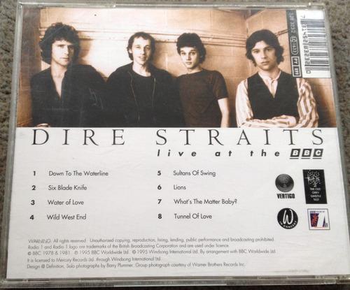 dire straits live at the bbc - cd importado