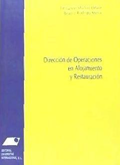 dirección de operaciones en alojamiento y restauración(libro