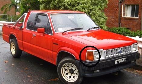 direccional delantera mazda 2000 / 2200 ford courier