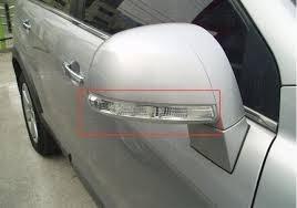 direccional espejo lateral chevrolet captiva