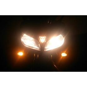 Direccionales Como Luz Parqueo Luces Para Moto