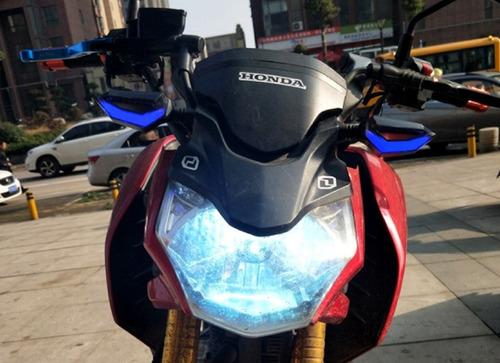 direccionales led intregado moto x 4
