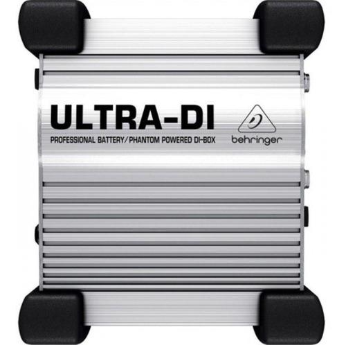 direct box ativo ultra di100 - behringer + nf + garantia