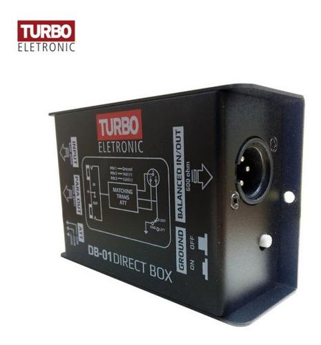 direct box (db-01) passivo turbo eletronic simples
