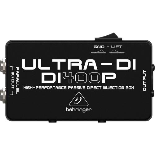 direct box passivo behringer di400p ultra di400 - kadu som