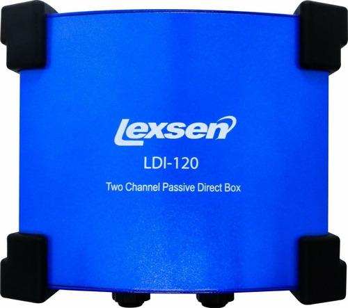 direct box stereo 2 canais baixo teclado violão lexsen nfe
