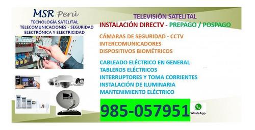 directv especialista, electrónica-electricidad 985057951
