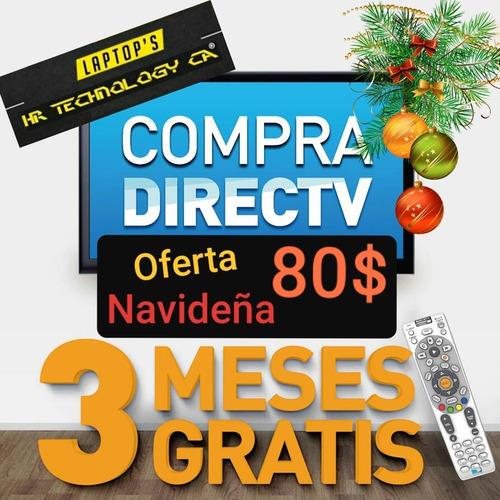 directv hd 80  tienda fisica 3 meses gratis
