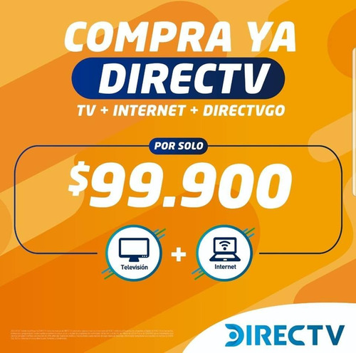 directv internet y tv  satelital pospago