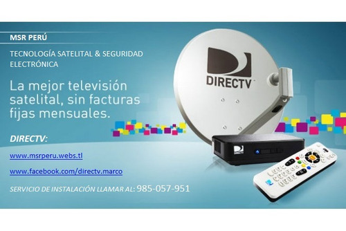 directv kit hd instalacion especializada 985057951 lima-call
