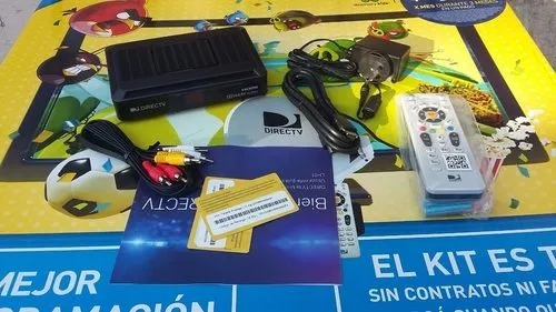 directv prepago hd - decodificador/cable hd/remoto/pilas