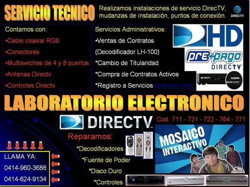 directv - servicio tecnico de directv - instalacion