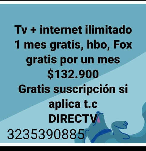 directv tv + internet