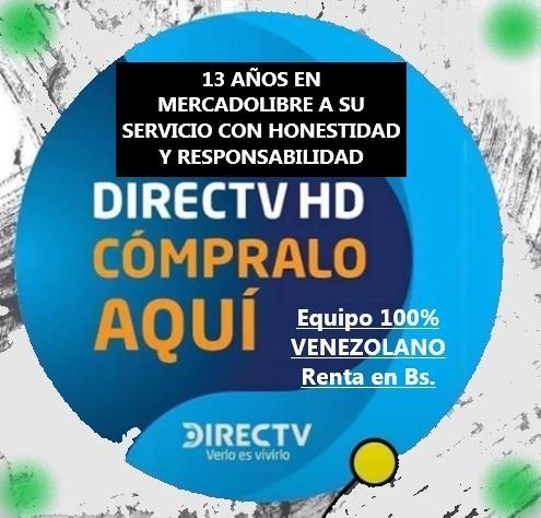 directv venezuela hd prepago escoja con antena y sin antena