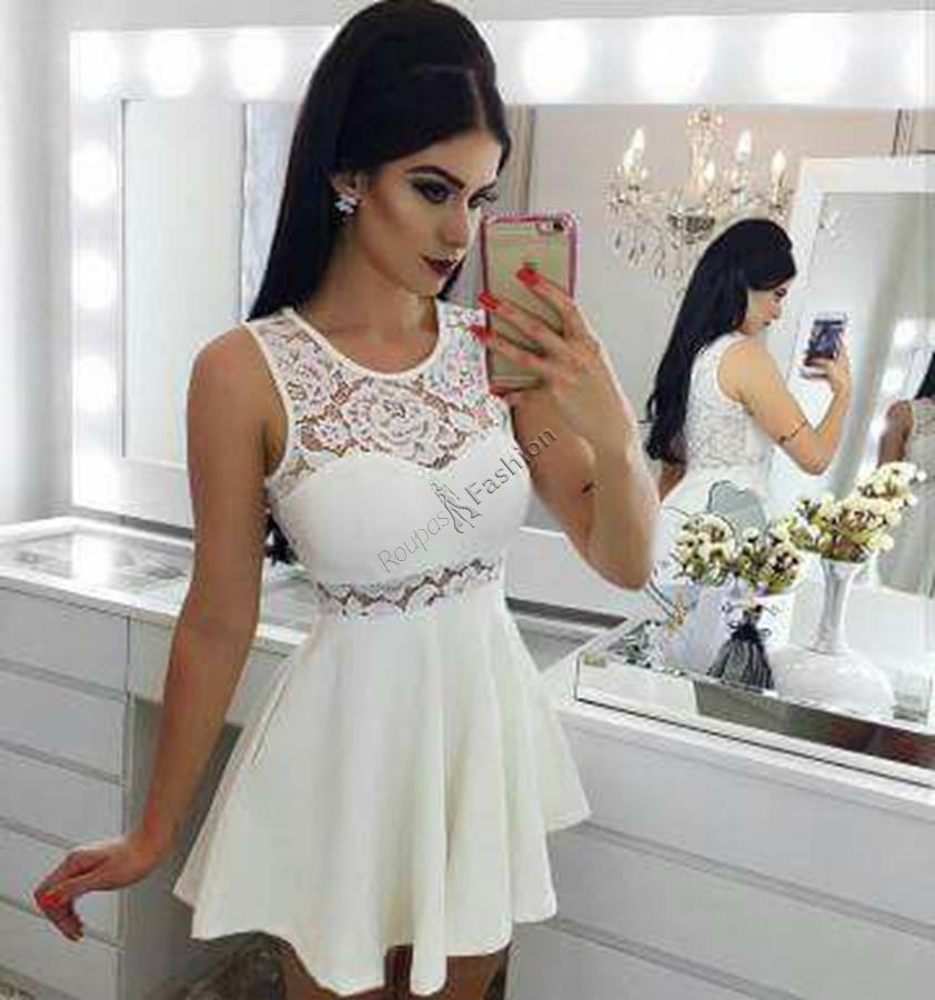 094dbd25d direto fabrica em renda vestido feminino curto festa roupas. Carregando  zoom.