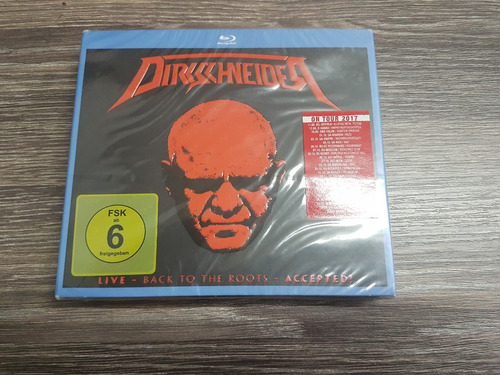 dirkschneider (accept) back to the roots - blu ray + 2 cds