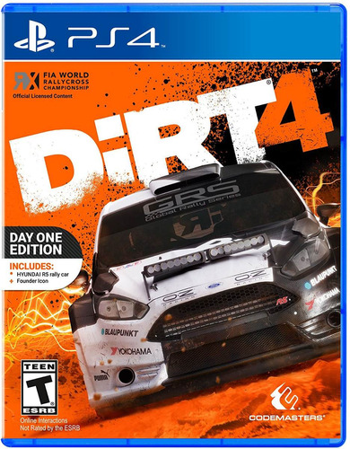 dirt 4 - day one edition - playstation 4 juego fisico ps4