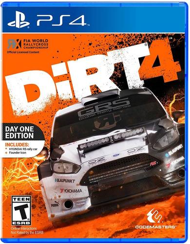dirt 4 ps4 nuevo sellado original tienda gamers san josé *_*