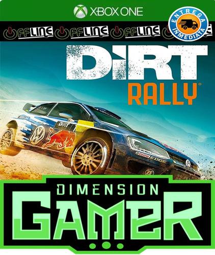 dirt rally - xbox one - n codigo offline
