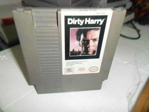 dirty harry nintendo nes cartucho