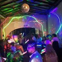disc jockey cabina led fotos dj economico fiestas eventos dj