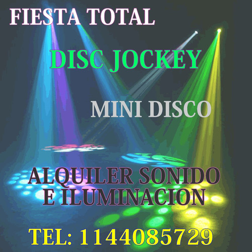 disc jockey dj eventos alquiler sonido luces karaoke laser