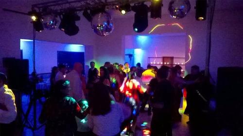disc jockey dj iluminacion,pantalla, karaoke