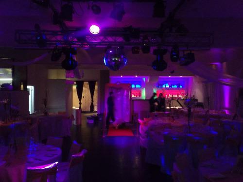 disc jockey dj iluminacion,pantalla,karaoke
