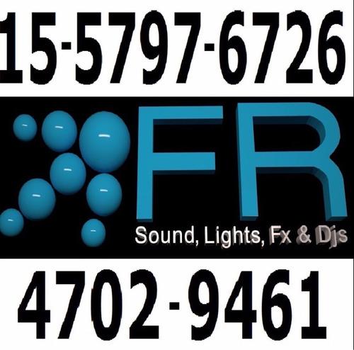 disc jockey profesional sonido iluminación pantalla karaoke