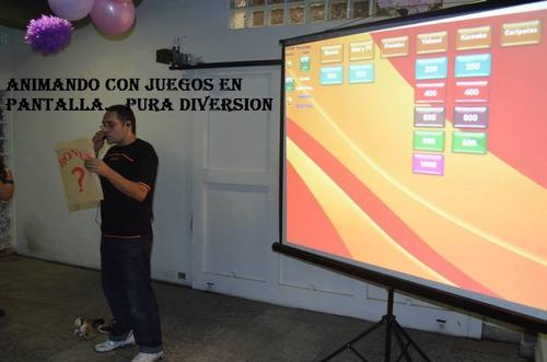 disc-jockey-show-animación pantalla-juegos interactivos