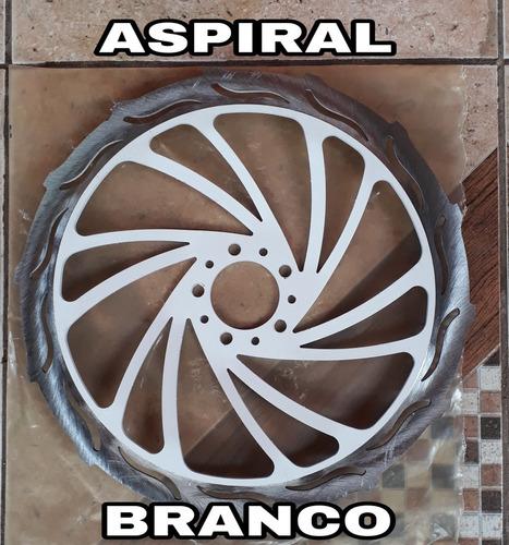 discao aspiral 370mm p/ honda biz freio normal
