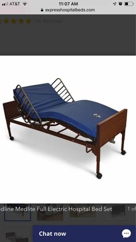 discapacidad  cama clinica y grua para movililza pacientes