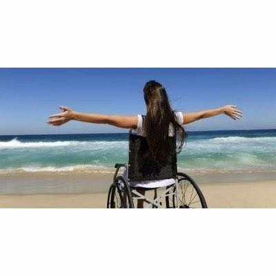 discapacitados transporte con ascensor para sillas de ruedas
