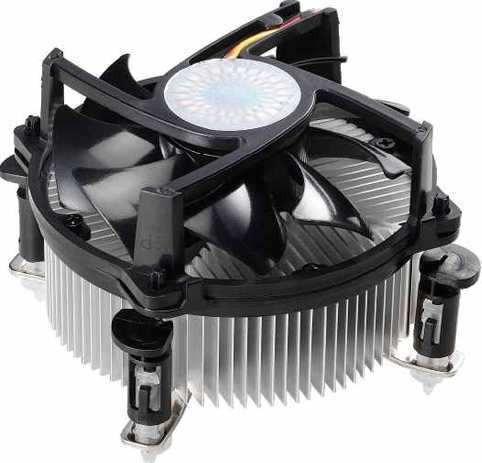 discipador ventilador cooler socket 775 para intel